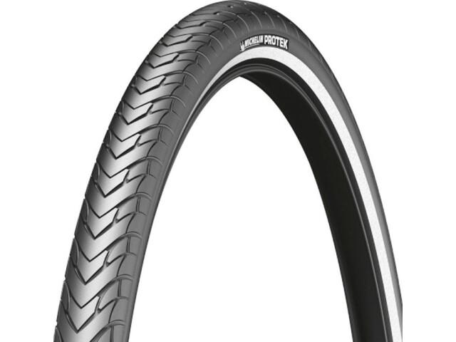 """Michelin Protek Dæk 26"""" trådet, black"""